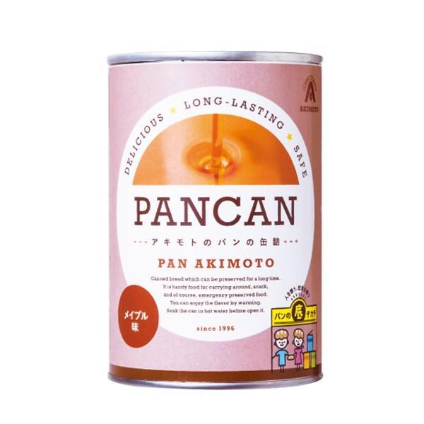 パンの缶詰 レギュラーシリーズ メイプル味 24缶/箱 − パン・アキモト