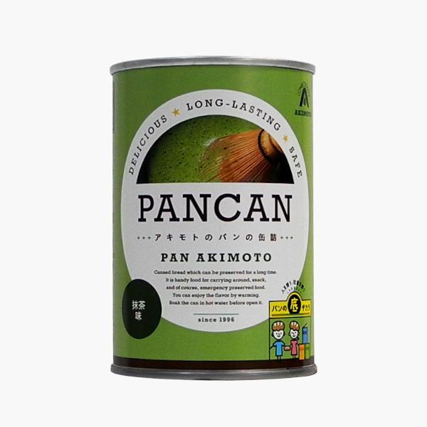 パンの缶詰 レギュラーシリーズ 抹茶味 24缶/箱 − パン・アキモト