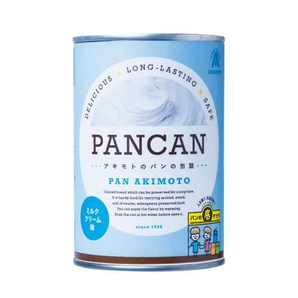 パンの缶詰 レギュラーシリーズ ミルククリーム味 24缶/箱 − パン・アキモト