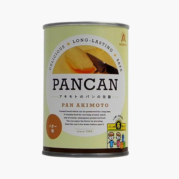 パンの缶詰 レギュラーシリーズ バター味 24缶/箱 − パン・アキモト