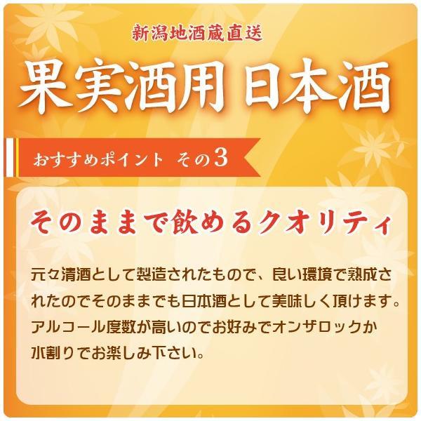 果実酒用 梅酒用 日本酒 1800ml  ホワイトリカーより最適 naebasyuzo 04