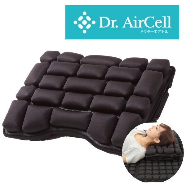 [実用新案取得済] ドクターエアセル 3D ピロー 枕 肩こり 安眠枕 横向き寝 ストレートネック 枕 安眠 人気 キャンプ 枕 アウトドア