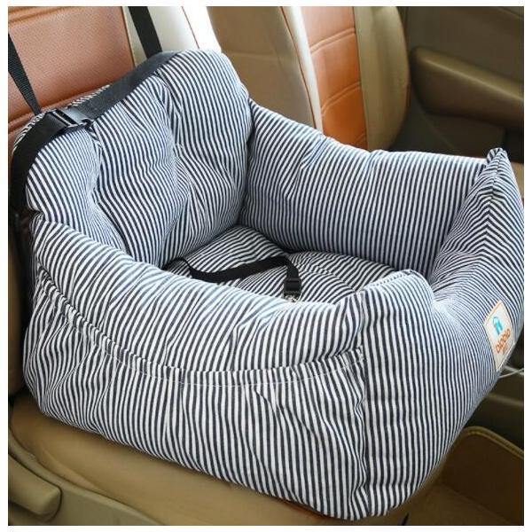 送料無料 ペット用品 ペットベッド ペットクッション ドライブシート ベッド ドライブボックス ペット用 車用 カー用品 中小型犬 お出かけ 汚れ防止 リード付き|nagaipet