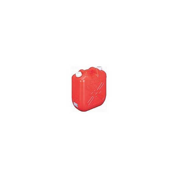ポリタンク赤 20L (オイル缶)(po-21) (4個単位で別途送料必要)