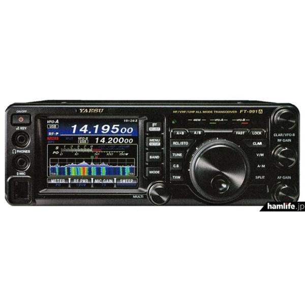 FT-991AM+保護シート 八重洲無線 HF/50/144/430MHz帯50Wオールモードトランシーバー