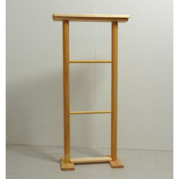バスタオル タオルハンガー タオル掛け バスタオルハンガー 木製 物干し ひのきタオルスタンド L 日本製