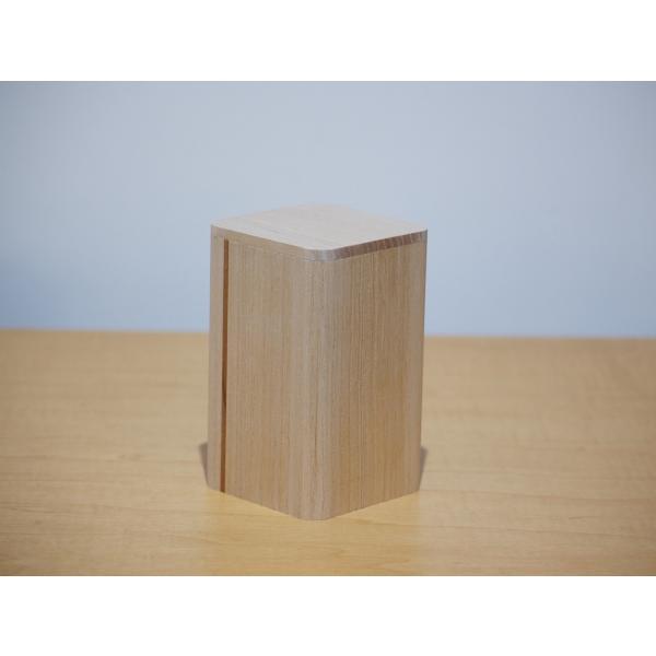 日本製 会津桐 「茶綾」 押出茶筒  径7.3×高12cm 奥会津産会津桐使用|naganoscom