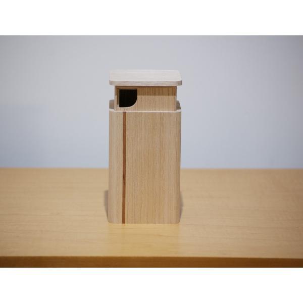 日本製 会津桐 「茶綾」 押出茶筒  径7.3×高12cm 奥会津産会津桐使用|naganoscom|03