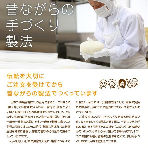 一升餅 セット 小分け も選べお祝いに必要な物が全て揃う 書道有段者による 名前入り 一升餅 選び取りカード リュック ガーランド 掛け紙 説明書 きなこ★|nagasaki-ojikaya|16