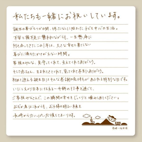 一升餅 セット 小分け も選べお祝いに必要な物が全て揃う 書道有段者による 名前入り 一升餅 選び取りカード リュック ガーランド 掛け紙 説明書 きなこ★|nagasaki-ojikaya|19