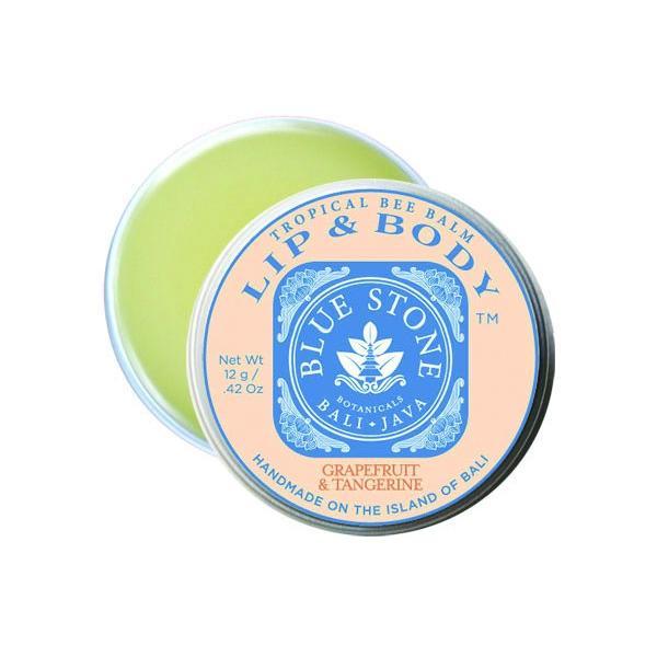 ブルーストーンボタニカル リップバーム グレープフルーツ&タンジェリン BLUE STONE BOTANICALS LIP BALM GRAPEFRUIT &TANGERINE 12g nagase