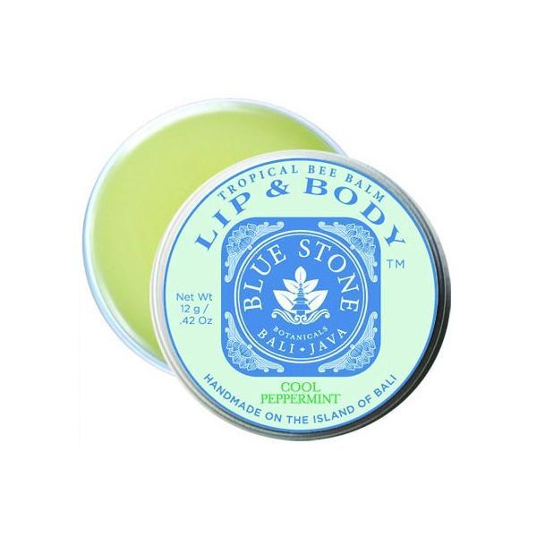 ブルーストーンボタニカル リップバーム クールペパーミント BLUE STONE BOTANICALS LIP BALM COOL PEPPER MINT 12g|nagase