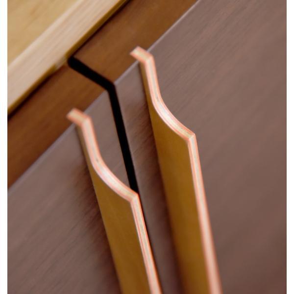 【永田や】17号ナラ薄板貼り+ウォールナット薄板貼り(6087)|nagatayada|05