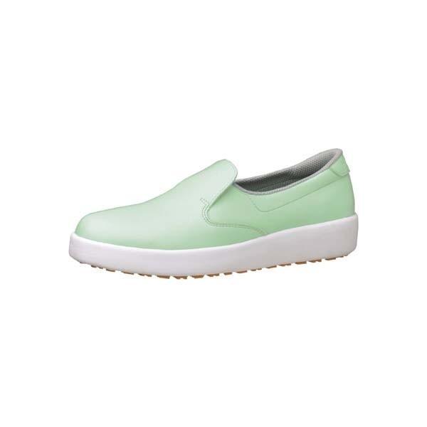 ミドリ安全ハイグリップ作業靴H−700N 27cm グリーン