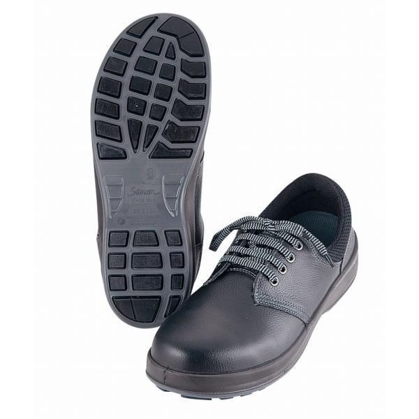 シモン 耐滑安全靴 ウォーキングセフティ SX3層WS−11 24.5cm