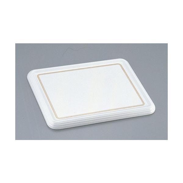 陶器風メラミン製ケーキトレー角型 CT−2634−WS