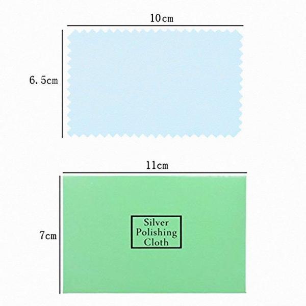 シルバー磨き 5枚セット 銀 クロス クリーナー つや出し 研磨剤 布 シルバー925 変色 黄ばみ 錆びる 手入れ 綺麗 直し 簡単 ネックレス チェーン ピアス リング|nagomi-company|06