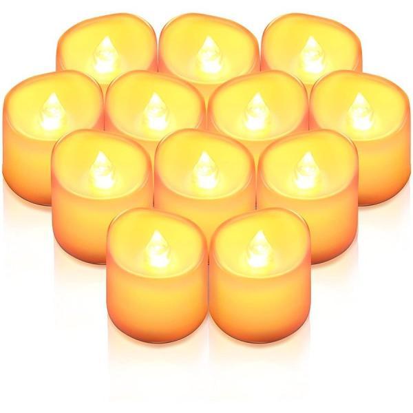 LED キャンドル 12個セット ライト ろうそく 蝋燭 おしゃれ クリスマス 結婚式 誕生日 室内 室外 飾り インテリア ろうそく型 LEDライト ランタン
