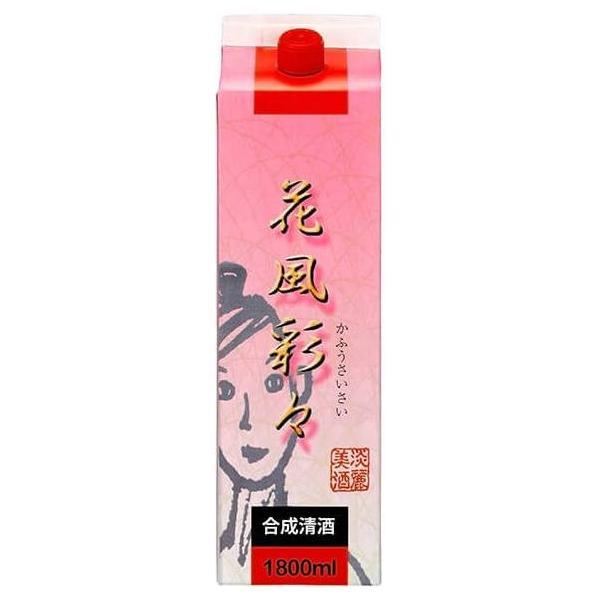 料理酒 合成清酒 花風彩々 1.8L紙パック/合同酒精