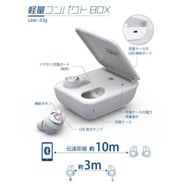 ワイヤレスイヤホン イヤホン bluetooth ブルートゥース 5.0 完全ワイヤレス 高音質 IPX7 完全防水  自動ペアリング iPhone Android 対応|nail39|10