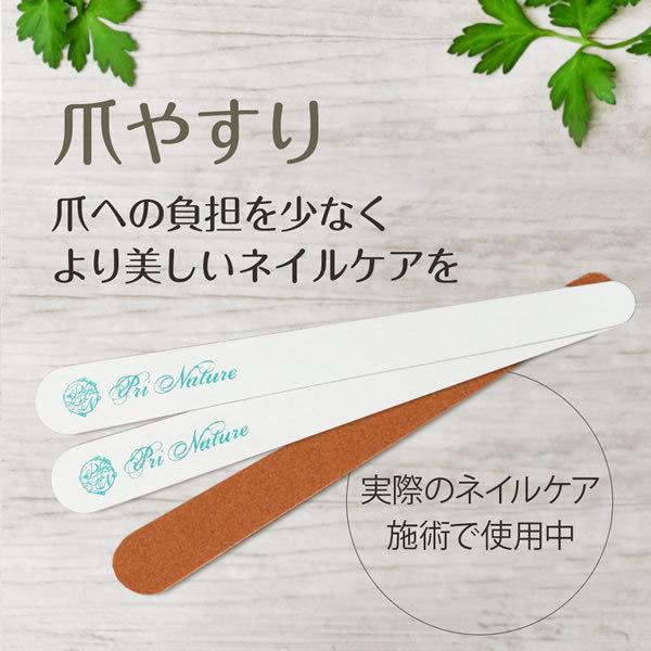 爪やすり ネイルケア専門サロン プリナチュールがサロンワークで使用 爪ケア ネイルファイル 1本あたり価格|nailcare|02