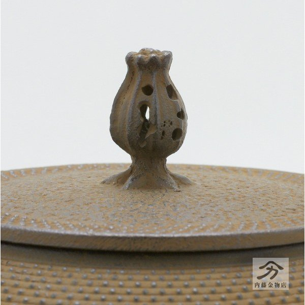 岩鋳 南部鉄器 鉄瓶 18型千鳥型アラレ1.8L|naitokanamono|03