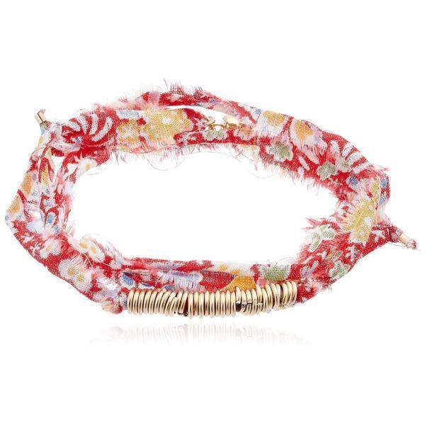 ダフネ dafne Minimalist Vintage Wrap Bracelet MINWVF Sunny red