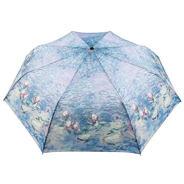 フランス Musees d'Orsay (オルセー美術館) クロード・モネ 睡蓮 折りたたみ傘 並行輸入品