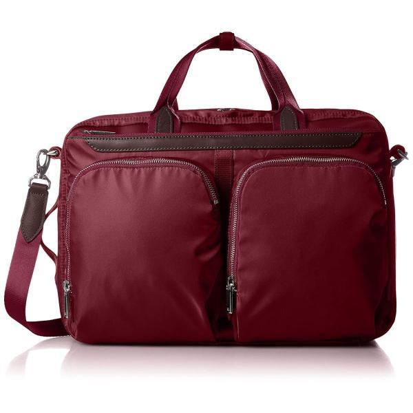 エースジーン ビジネスバッグ 3WAY ルシティー レディース PC対応 セットアップ エキスパンダブル機能付 59075 07 ワイン