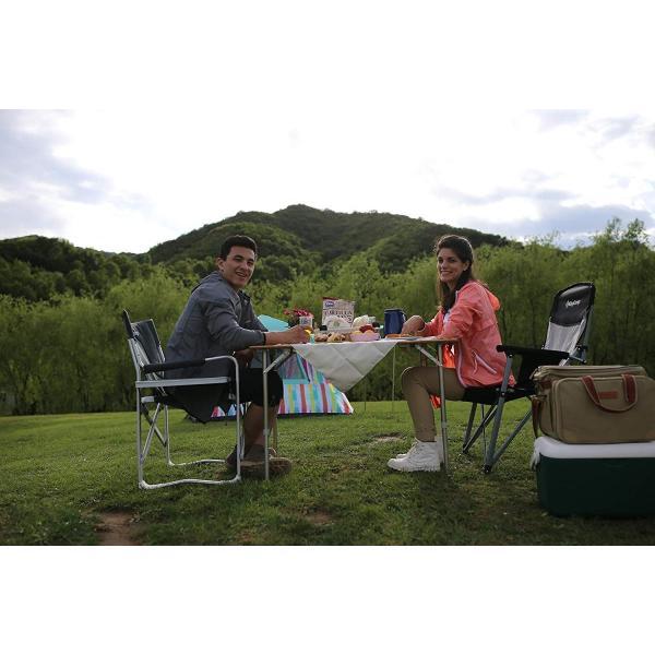 KingCamp (キングキャンプ) アウトドアロールテーブル キャンプ  65*50cm 4折り 竹製 高さ調整可能|naivecanvas|03