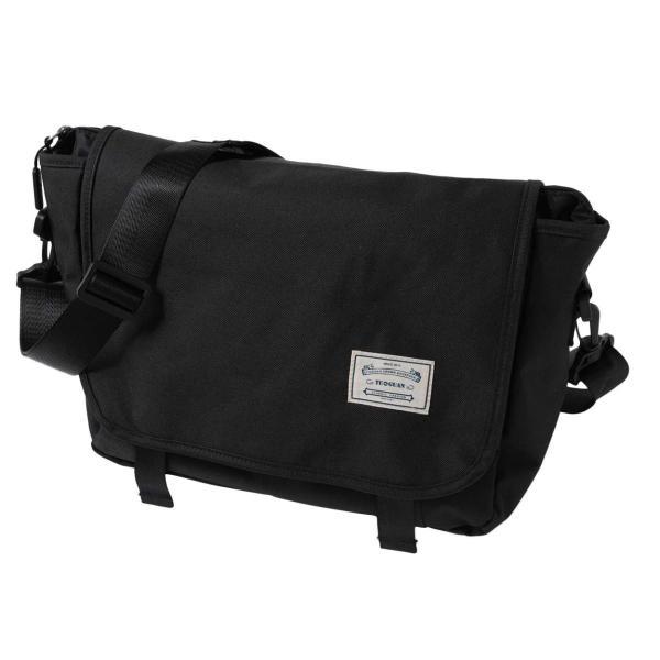 ショルダーバッグ a4 メッセンジャーバッグ 防水 (黒) 撥水 旅行用 ショルダーBENEFIC