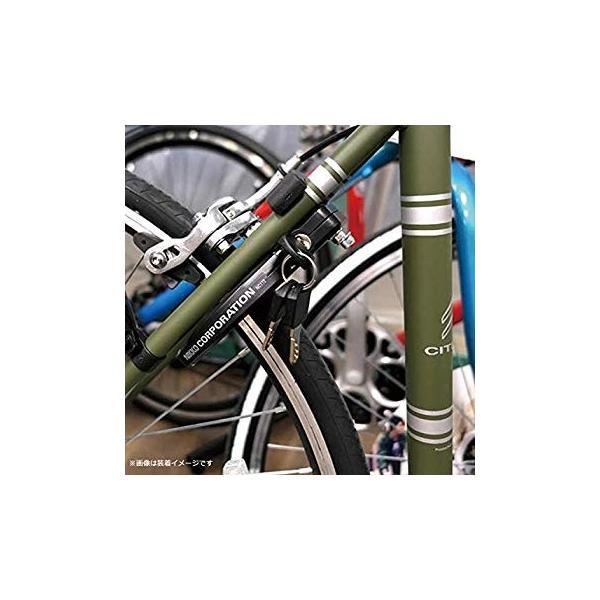 ニッコー(NIKKO) 自転車 リング錠 NC172 リングロック V/キャリパーブレーキ対応 ブラック 0680013|naivecanvas|09