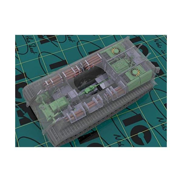 ICM 1/35 ドイツ陸軍 キングタイガー後期型 w/フルインテリア プラモデル 35364|naivecanvas|03