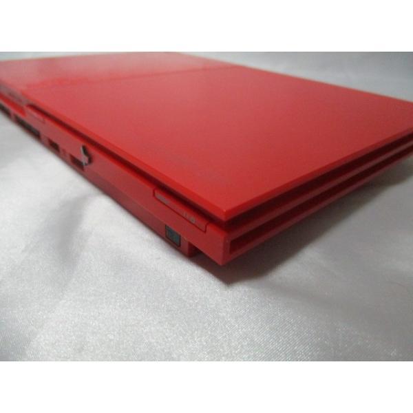 PlayStation 2 シナバー・レッド SCPH-90000CR 箱なし すぐに遊べるセット プレイステーション2 中古|naka-store|04