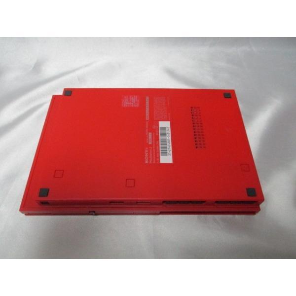 PlayStation 2 シナバー・レッド SCPH-90000CR 箱なし すぐに遊べるセット プレイステーション2 中古|naka-store|06