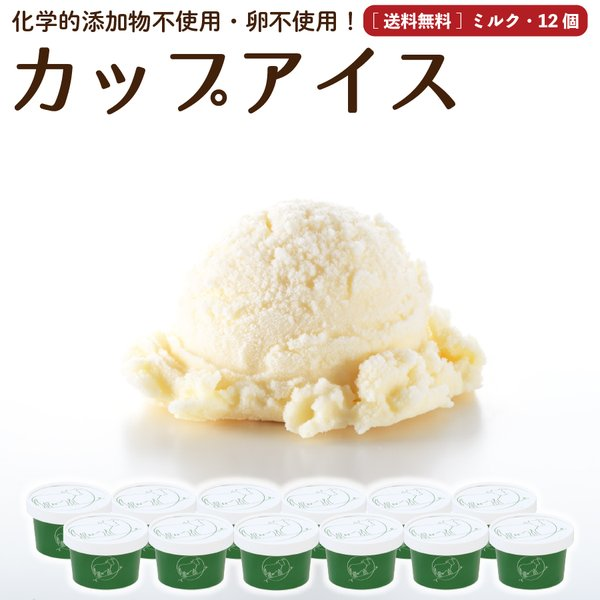お歳暮 アイスクリーム 詰め合わせ ミルク 12個 ギフト お菓子 スイーツ 卵不使用 無添加 送料無料 [冷凍便] nov