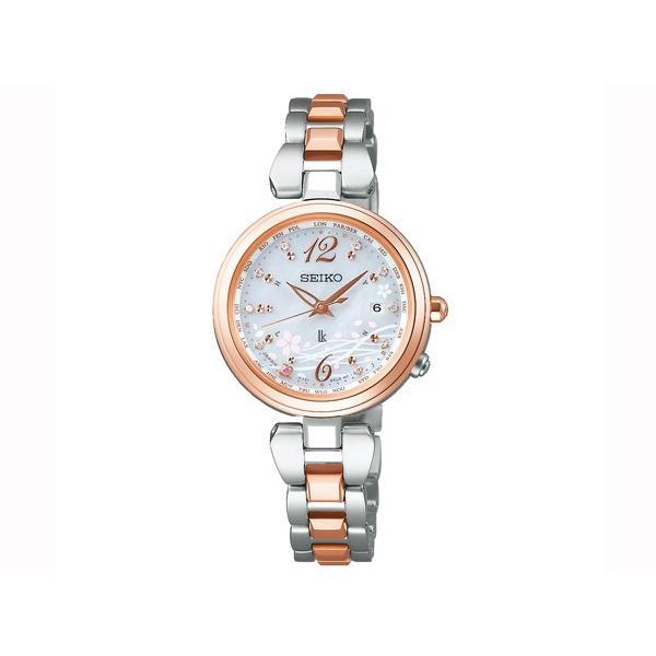 SEIKO LUKIA(セイコールキア) 『2019 SAKURA Blooming 限定モデル』 SSQV052 ソーラー電波 腕時計