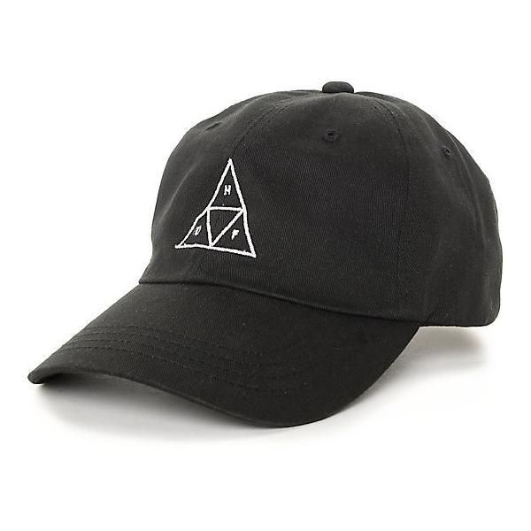 huf triangle black cap ハフ トライアングル ブラック キャップ メンズ