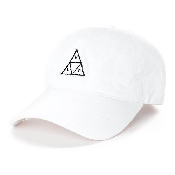 huf triangle white cap ハフ トライアングル ホワイト キャップ メンズ
