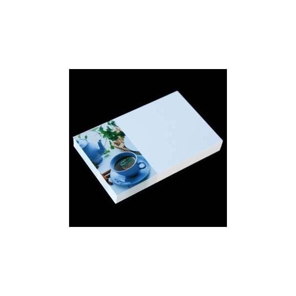 名刺用 用紙 4号 [50枚入] フォトコレクション100 PM-88 ティータイム【名入れ印刷なし 紙の販売です】【4号  写真入り 雑貨・ペーパークラフト】