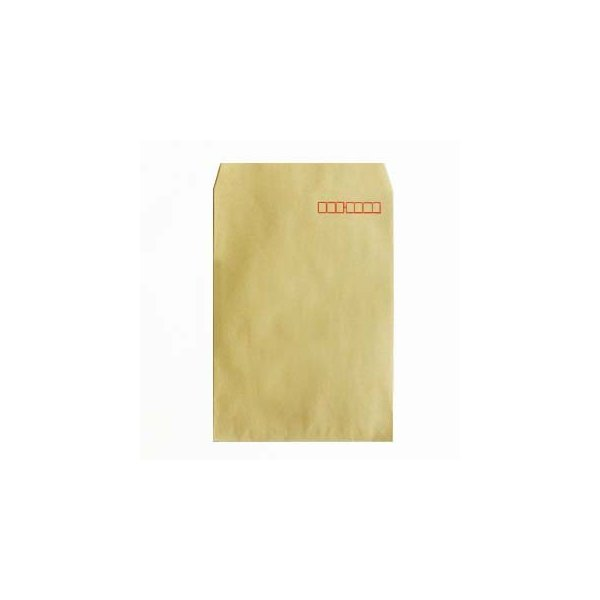 角2封筒 - OKクラフト (紙厚: 85)(郵便番号の枠:あり) 500 枚
