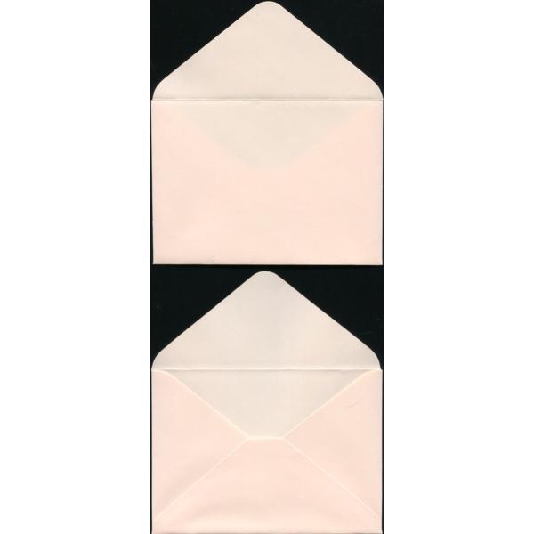 封筒 パステル ピンク 名刺入封筒 16 ダイヤ貼 1000枚