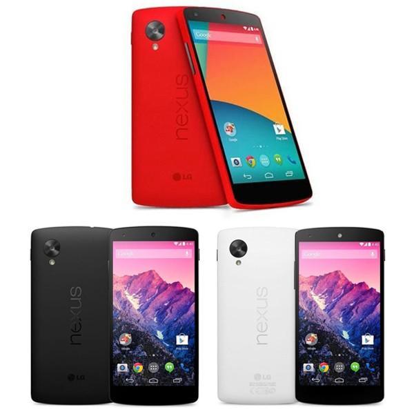 新品 未使用 Google Nexus5本体 LTE版 32GB LG-D821 ブラック ホワイトレッド 海外SIMシムフリー版 携帯電話 4G LTE 【当社90日保証】|nakanokoubou