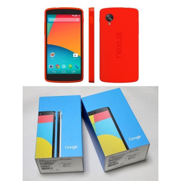 新品 未使用 Google Nexus5本体 LTE版 32GB LG-D821 ブラック ホワイトレッド 海外SIMシムフリー版 携帯電話 4G LTE 【当社90日保証】|nakanokoubou|03