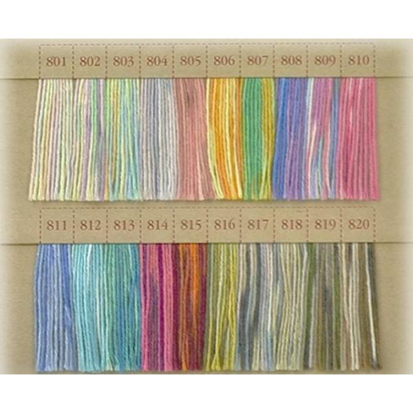 モコMOCO手縫い糸 ふっくらとしたステッチやボタン付けに!モコ糸/グラデーション糸 フジックス