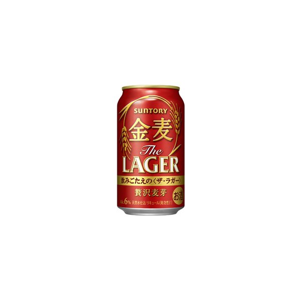 〔ビール類〕〔発泡酒〕サントリー〔新ジャンル〕金麦ゴールドラガー350ml1ケース(24本入り)