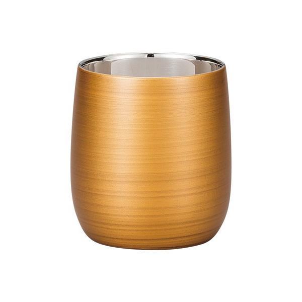 漆磨カップ(二重ロックカップだるま パールゴールド)|nakayakeitei