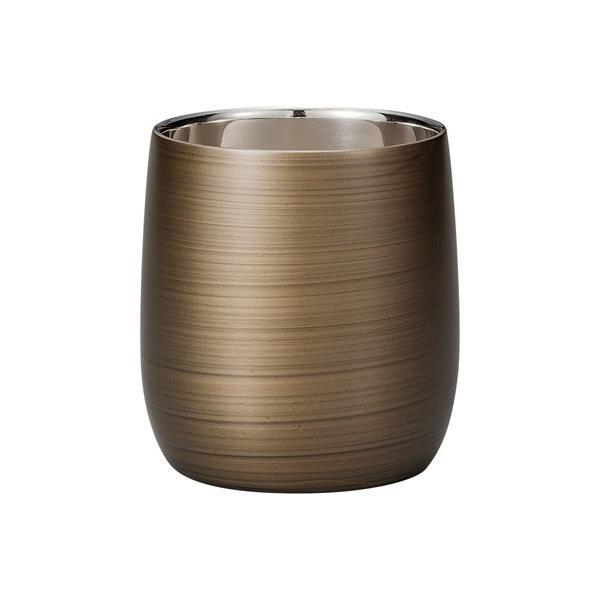 漆磨カップ(二重ロックカップだるま パールシルバー)|nakayakeitei