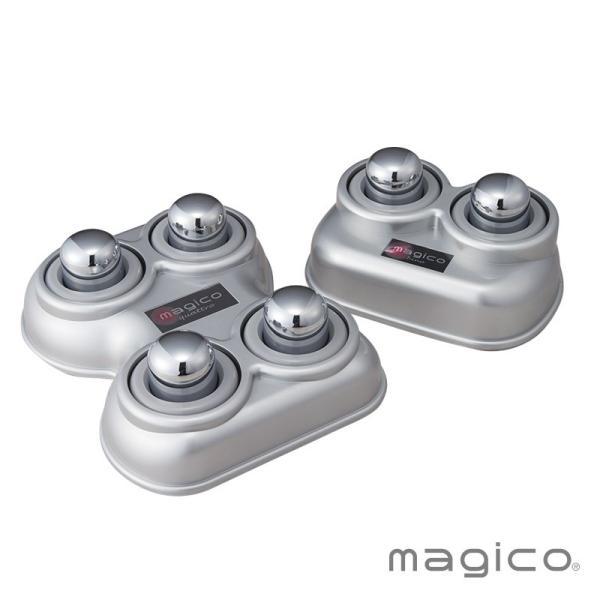 中山式 マジコ快癒器 bino・quattro(2球・4球式セット) 肩こり コリ 腰痛 むくみ 血流 筋肉 グッズ 快眠|nakayama-shiki|02