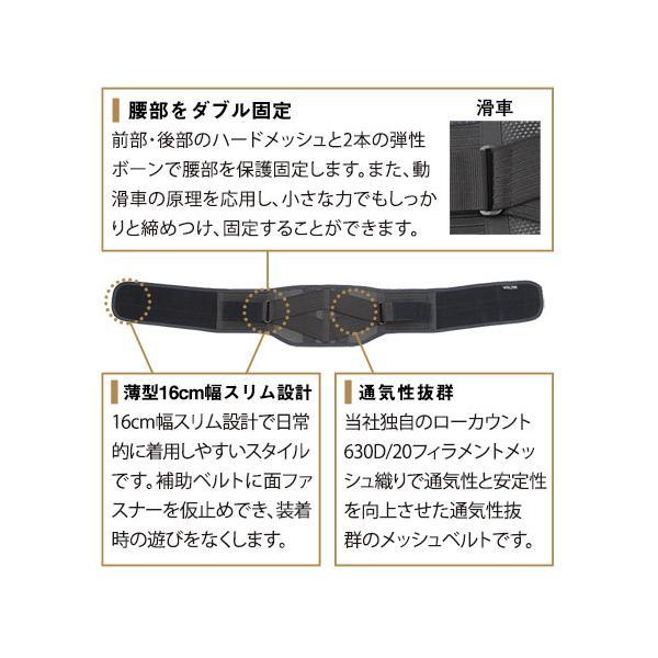 ボディフレーム腰用ハード   腰痛 コルセット 腰痛ベルト 腰椎ベルト 中山式 日本製|nakayama-shiki|03
